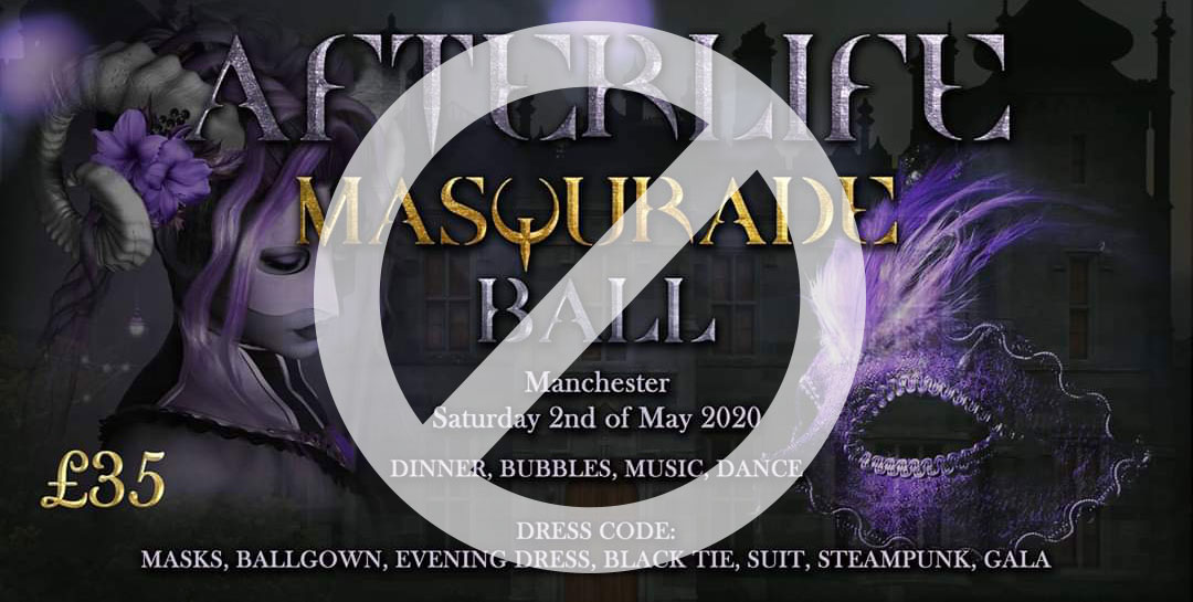 Not Attending: Afterlife Saga Masked Ball 2020