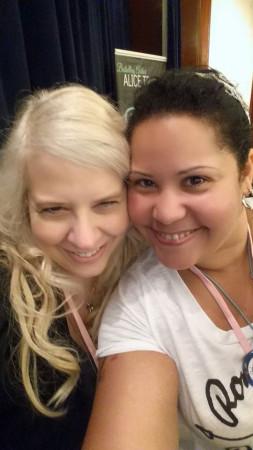 Deborah Bladon and me