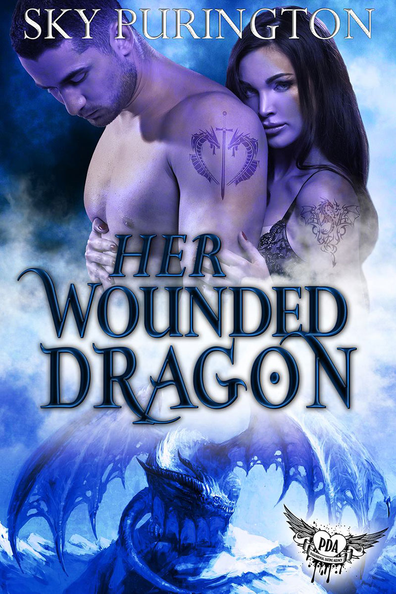 Her Wounded Dragon by Sky Purington