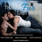 Thanks Fur Last Night Audio Cover